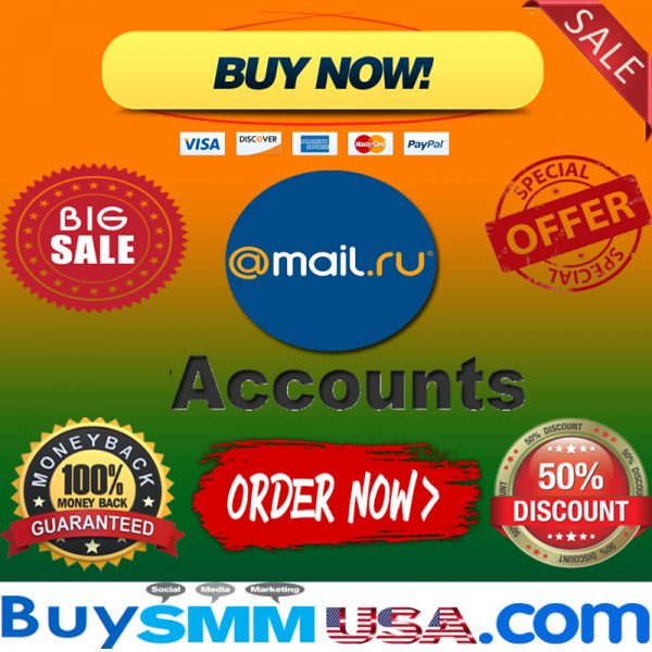 Buy Mail.ru Accounts