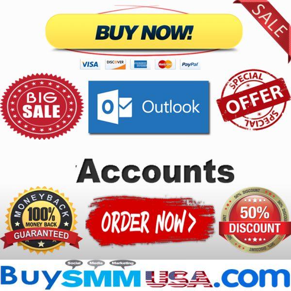 Buy Outlook Accounts