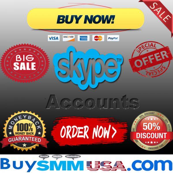 Buy Skype Accounts