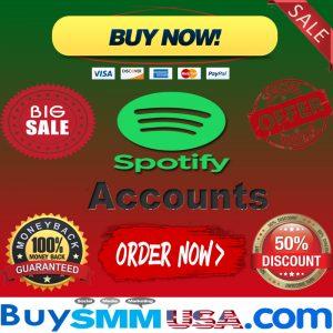 Buy Spotify Accounts