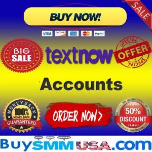 Buy TextNow Accounts