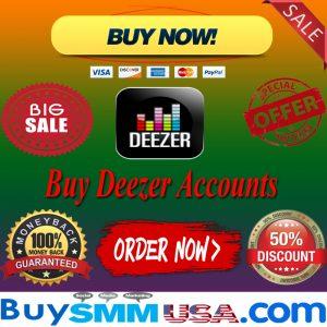 Buy Deezer Accounts
